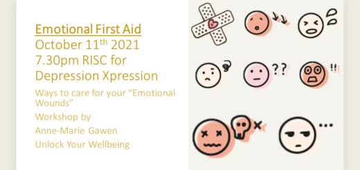 Emotional First Aid at RISC: Support group 11th October 2021